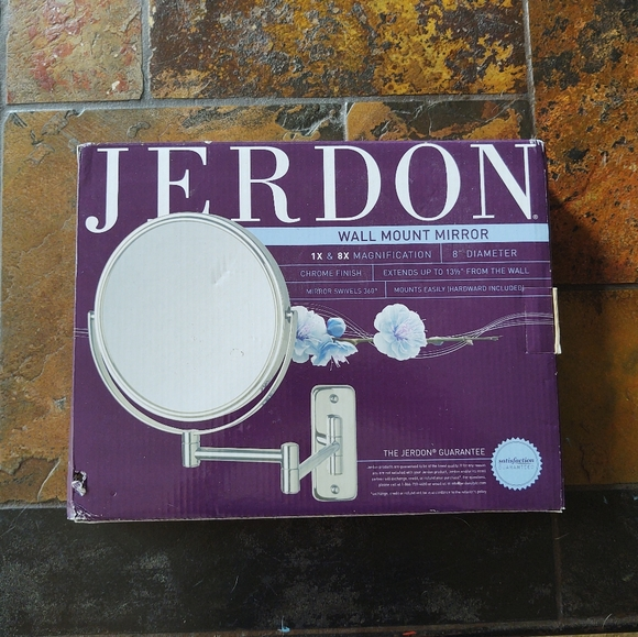 Jerdon Other - 🎃Jerdon Extendable Wall Mirror, New in Box NWT